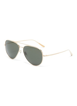 Main View - Click To Enlarge - OLIVER PEOPLES ACCESSORIES - x The Row 'CASSE' Teardrop Sunglasses
