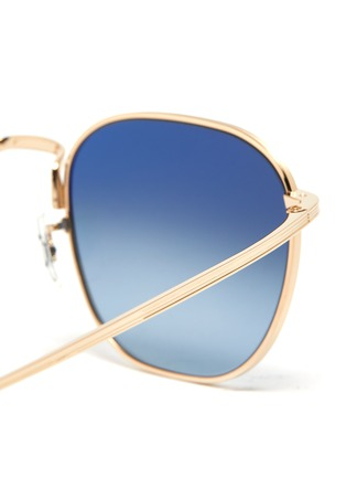 Detail View - Click To Enlarge - OLIVER PEOPLES ACCESSORIES - x The Row 'BOARD MEETING 2' METAL FRAME SUNGLASSES