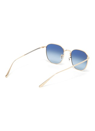Figure View - Click To Enlarge - OLIVER PEOPLES ACCESSORIES - x The Row 'BOARD MEETING 2' METAL FRAME SUNGLASSES