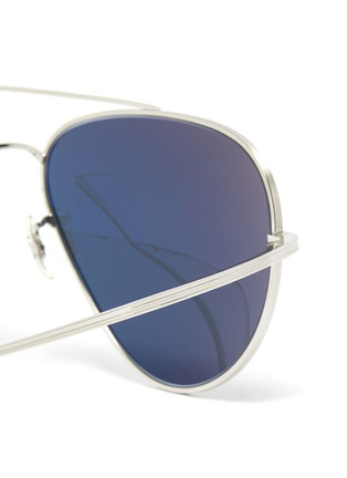 Detail View - Click To Enlarge - OLIVER PEOPLES ACCESSORIES - x The Row ''CASSE' Teardrop Sunglasses