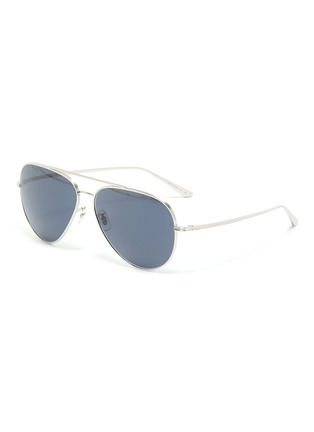 Main View - Click To Enlarge - OLIVER PEOPLES ACCESSORIES - x The Row ''CASSE' Teardrop Sunglasses