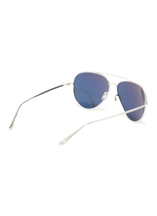 Figure View - Click To Enlarge - OLIVER PEOPLES ACCESSORIES - x The Row ''CASSE' Teardrop Sunglasses