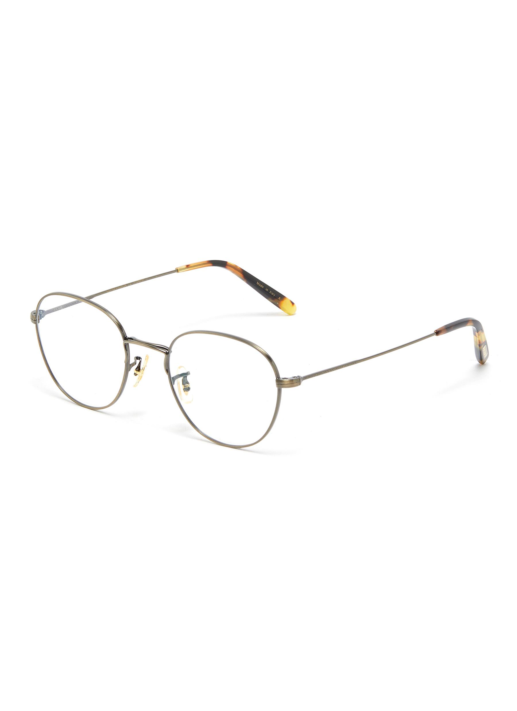 Piercy' Matte Round Frame Optical Glasses - OLIVER PEOPLES ACCESSORIES - Modalova