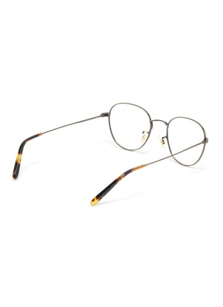 Figure View - Click To Enlarge - OLIVER PEOPLES ACCESSORIES - Piercy' Matte Round Frame Optical Glasses