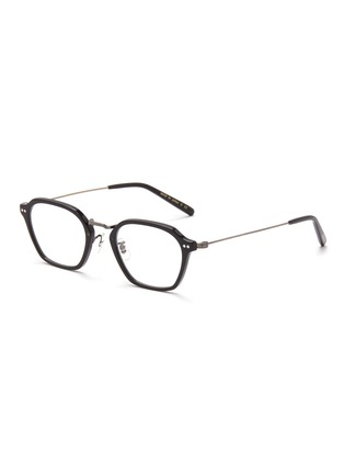 Main View - Click To Enlarge - OLIVER PEOPLES ACCESSORIES - Hilden' Angular Acetate Frame Optical Glasses