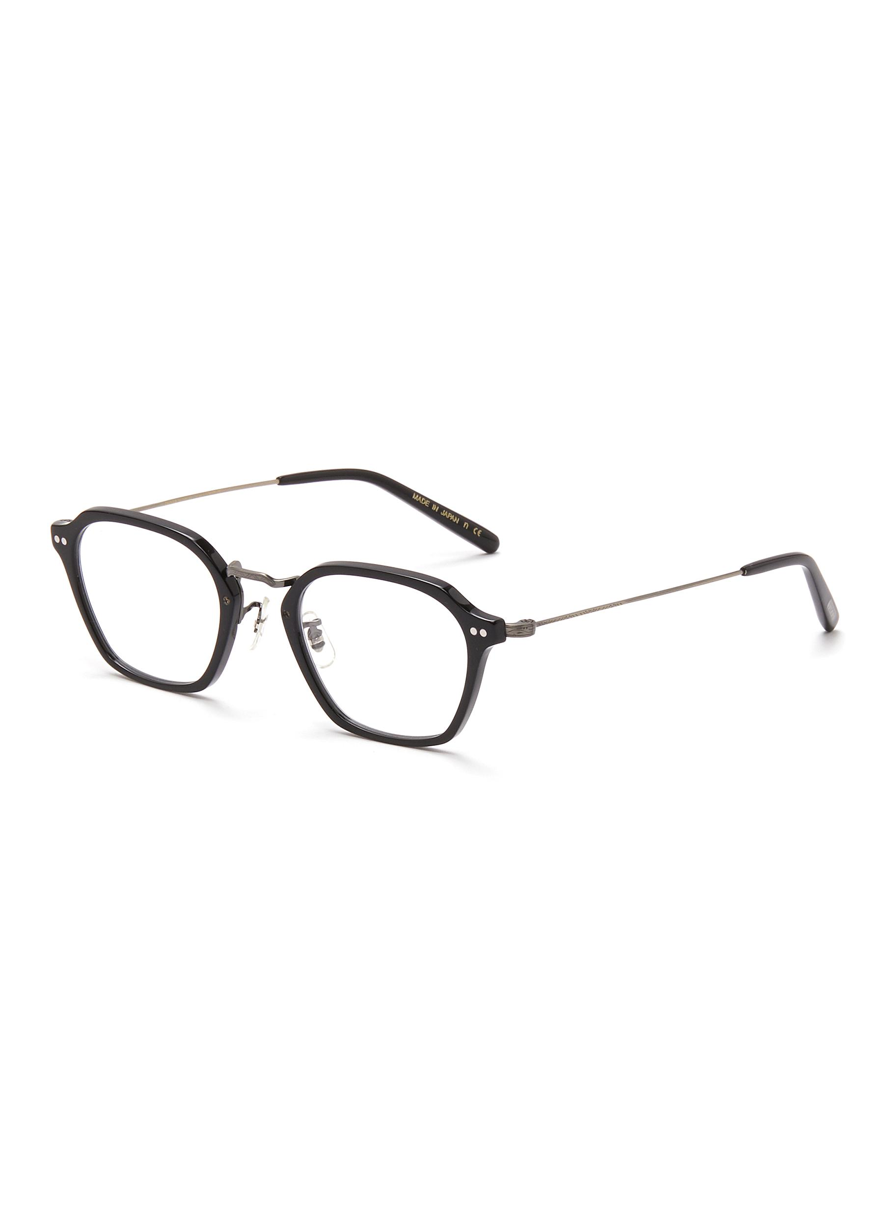 Hilden' Angular Acetate Frame Optical Glasses - OLIVER PEOPLES ACCESSORIES - Modalova