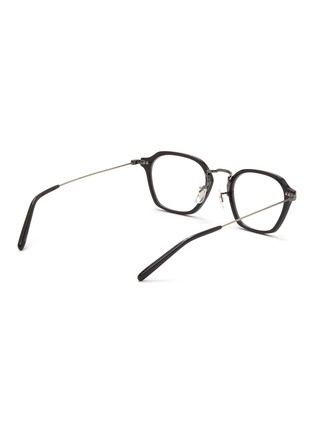 Figure View - Click To Enlarge - OLIVER PEOPLES ACCESSORIES - Hilden' Angular Acetate Frame Optical Glasses