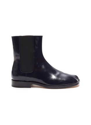 Main View - Click To Enlarge - MAISON MARGIELA - Tabi' flat patent leather Chelsea boots