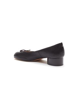 - MAISON MARGIELA - Tabi' leather ballerinas