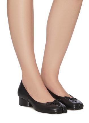 Figure View - Click To Enlarge - MAISON MARGIELA - Tabi' leather ballerinas