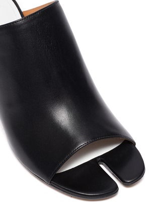 Detail View - Click To Enlarge - MAISON MARGIELA - Tabi' open toe leather mules