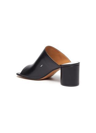 - MAISON MARGIELA - Tabi' open toe leather mules
