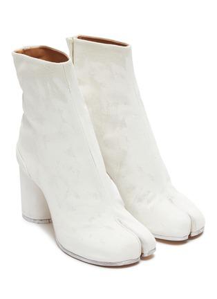 Detail View - Click To Enlarge - MAISON MARGIELA - Tabi' linen boots