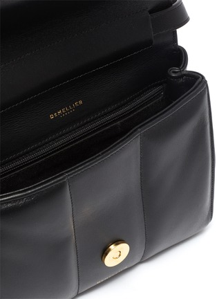 Detail View - Click To Enlarge - DEMELLIER - 'Mini Alexandria' padded soft leather crossbody bag