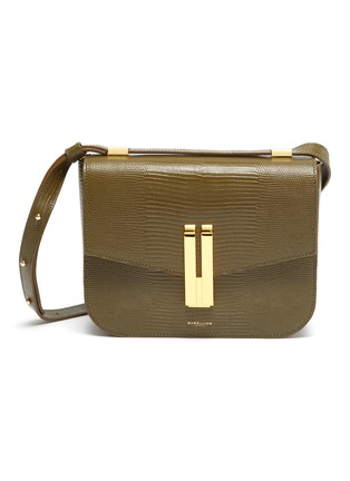 Main View - Click To Enlarge - DEMELLIER - 'Vancouver' lizard effect leather crossbody bag
