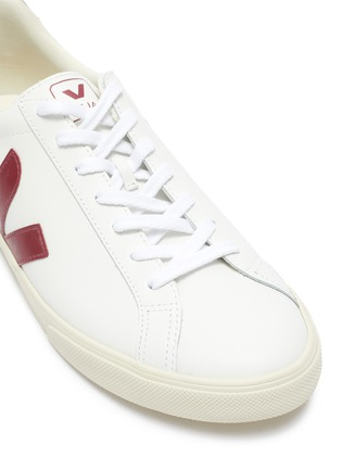 Detail View - Click To Enlarge - VEJA - ESPLAR' LEATHER SNEAKERS