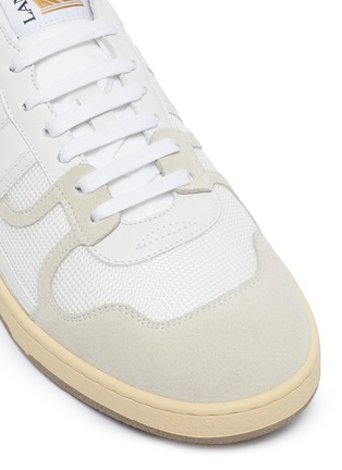 Detail View - Click To Enlarge - LANVIN - 'Clay' Low Top Lace Up Sneakers