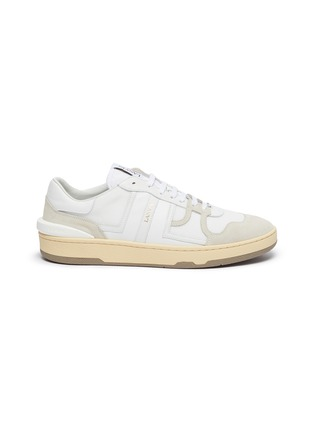 Main View - Click To Enlarge - LANVIN - 'Clay' Low Top Lace Up Sneakers