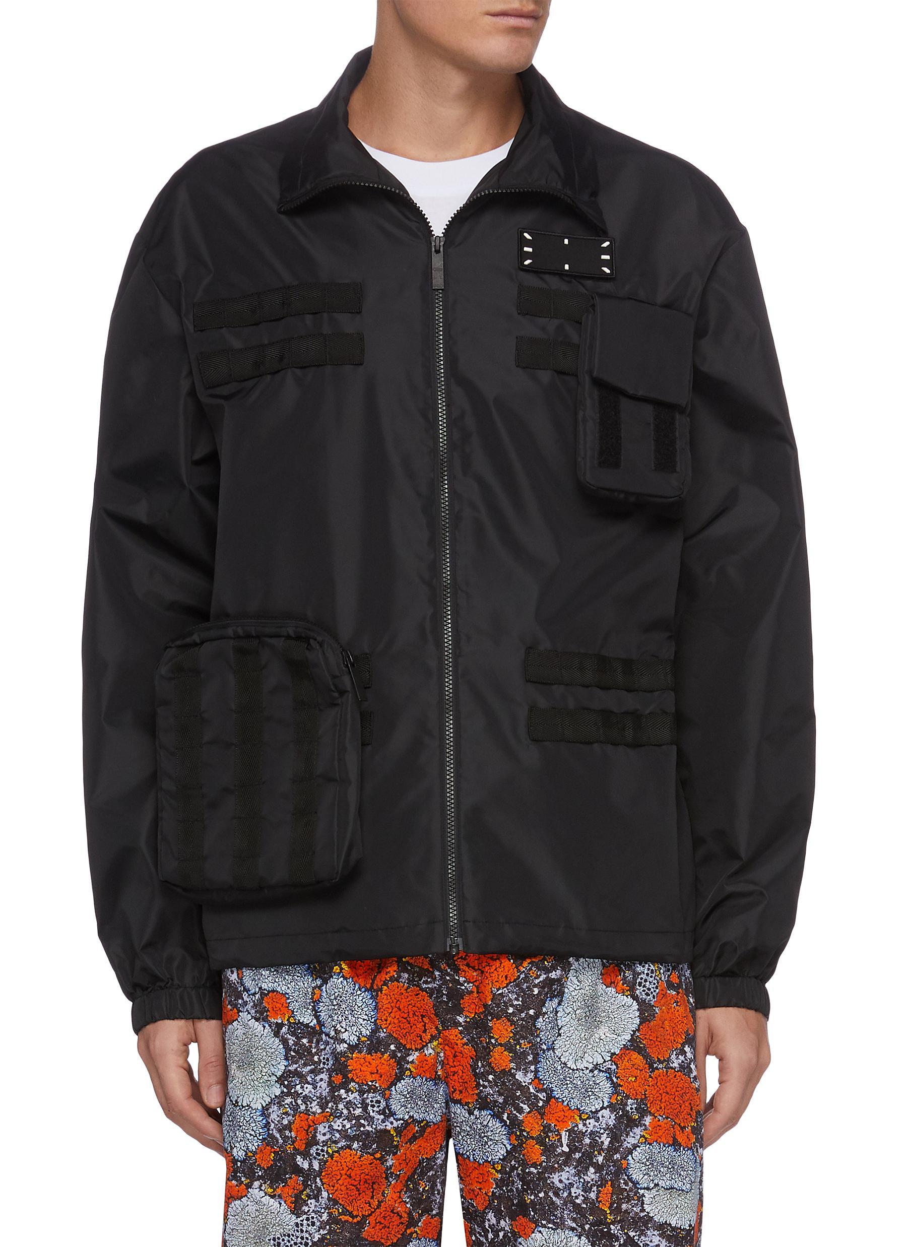 Core stitch modular track jacket