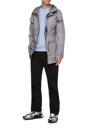 Figure View - Click To Enlarge - MC Q - Core stitch print sweatshirt
