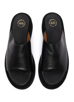 Detail View - Click To Enlarge - ATP ATELIER - Pacci' leather platform sandals