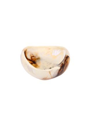 Main View - Click To Enlarge - DINOSAUR DESIGNS - Beetle medium bowl – Light Horn