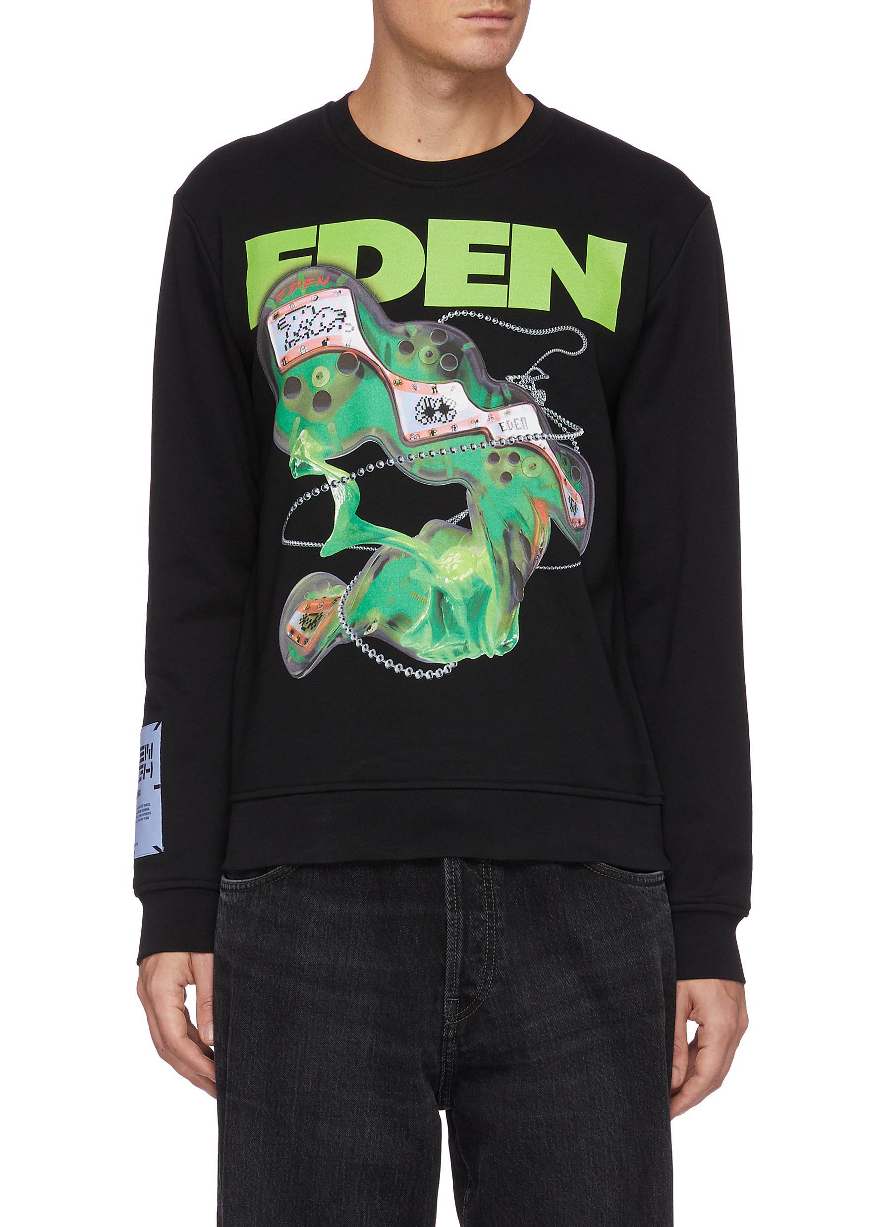 Eden Fascination graphic print sweatshirt