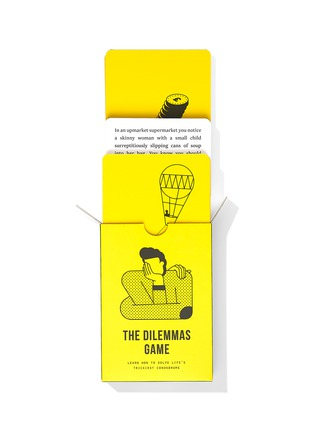 Detail View - Click To Enlarge - THE SCHOOL OF LIFE - The Dilemmas Game Card Set