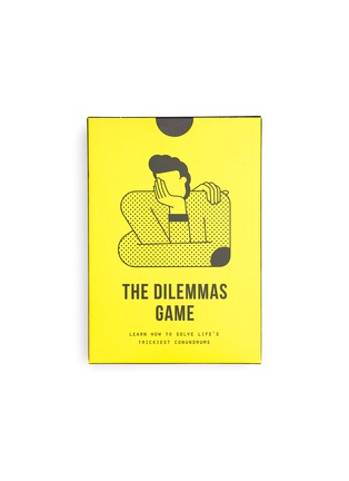 Main View - Click To Enlarge - THE SCHOOL OF LIFE - The Dilemmas Game Card Set