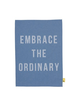 Main View - Click To Enlarge - THE SCHOOL OF LIFE - Embrace the ordinary tea towel