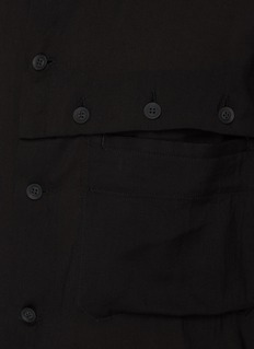 CitiFord Blouse with Button Detail