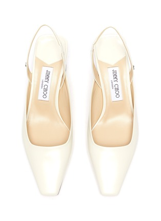 Detail View - Click To Enlarge - JIMMY CHOO - Gini' leather slingback pumps