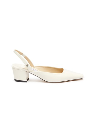 Main View - Click To Enlarge - JIMMY CHOO - Gini' leather slingback pumps