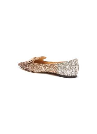- JIMMY CHOO - Gala' glitter degradé loafers