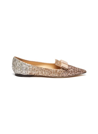 Main View - Click To Enlarge - JIMMY CHOO - Gala' glitter degradé loafers