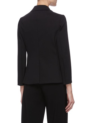 Back View - Click To Enlarge - THE ROW - Notch Lapel Single Breast Blazer