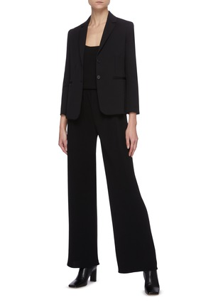 Figure View - Click To Enlarge - THE ROW - Notch Lapel Single Breast Blazer