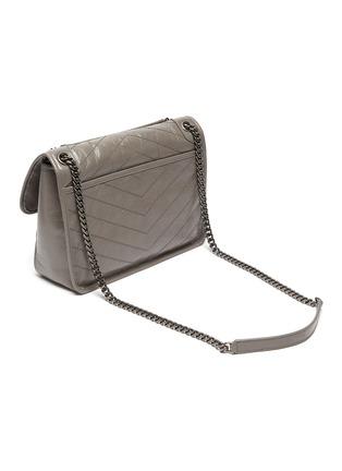 Detail View - Click To Enlarge - SAINT LAURENT - 'Niki Média' calfskin leather shoulder bag