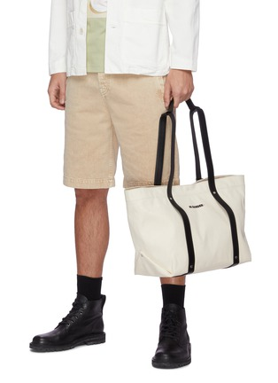 Front View - Click To Enlarge - JIL SANDER - Backpack canvas tote