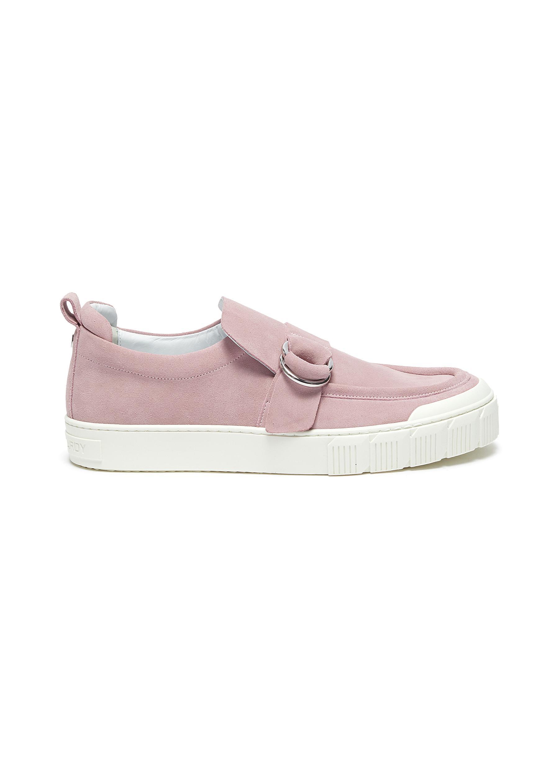 Ollie' buckle detail suede sneakers - PIERRE HARDY - Modalova