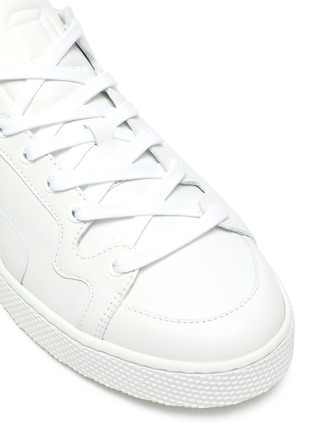 Detail View - Click To Enlarge - PIERRE HARDY - '104' leather sneakers