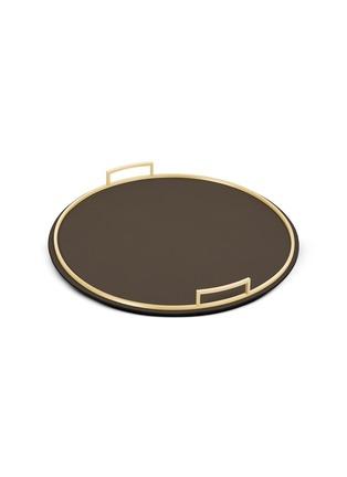 Main View - Click To Enlarge - GIOBAGNARA - Defile large round tray