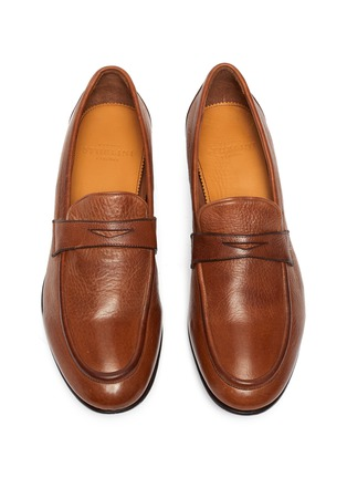 Detail View - Click To Enlarge - ROLANDO STURLINI - 'Match Cervo' penny loafers