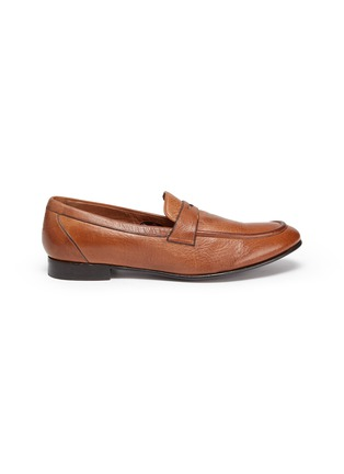 Main View - Click To Enlarge - ROLANDO STURLINI - 'Match Cervo' penny loafers