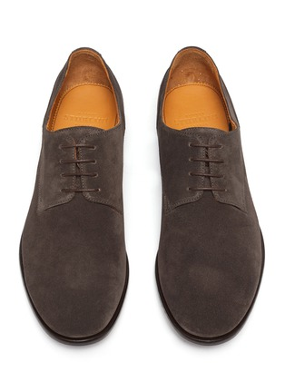 Detail View - Click To Enlarge - ROLANDO STURLINI - 'Match Suede' derby shoes