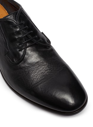 Detail View - Click To Enlarge - ROLANDO STURLINI - 'Badge Buffalo' derby shoes