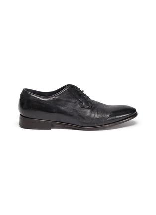 Main View - Click To Enlarge - ROLANDO STURLINI - 'Badge Buffalo' derby shoes