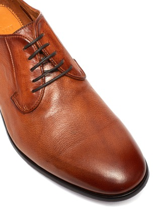 Detail View - Click To Enlarge - ROLANDO STURLINI - 'BADGE BUFFALO' Suede Derby Shoes