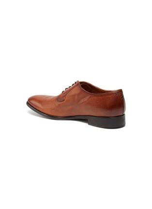 - ROLANDO STURLINI - 'BADGE BUFFALO' Suede Derby Shoes