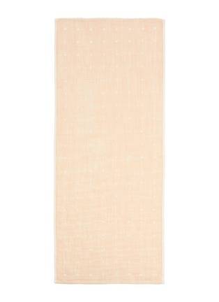 Main View - Click To Enlarge - UCHINO - Grass-stained OG Gauze Hand Towel – Yellow